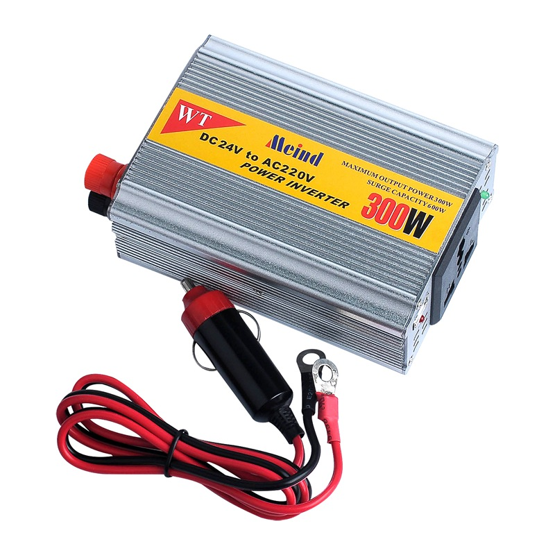 300W DC to AC Modified Sine Wave Power Inverter with USB Universal Socket
