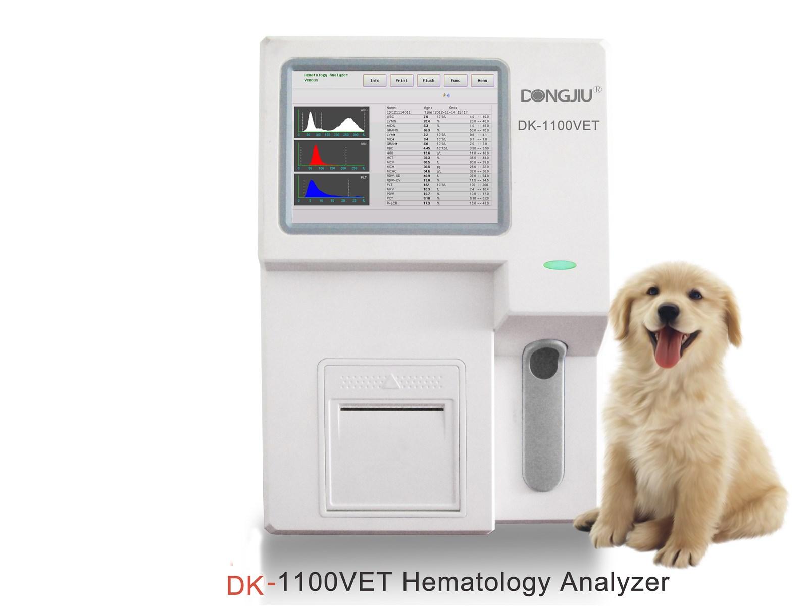DK1100VET Clinic Hematology Analyzer