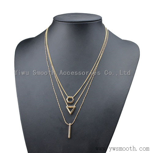 Fashion Rose Gold Jewelry Pendant Necklaces Gift Accessories Bracelet Silver