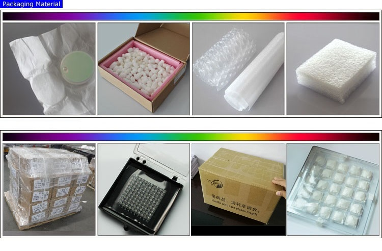 Optical ZCut YB3 Linbo3 Crystal Lens