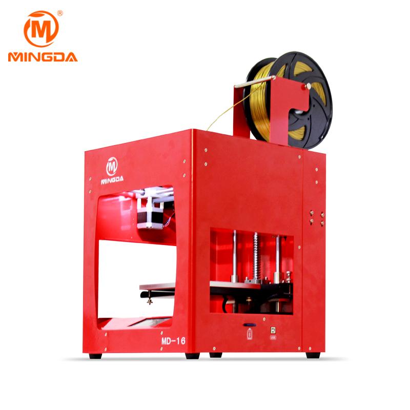 2018 MINGDA New 3D Printer Desktop 3D Printer Digital Printing Machine