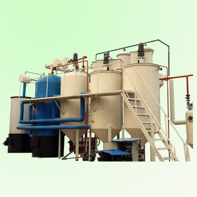 Tire pyrolysis oil refining machine