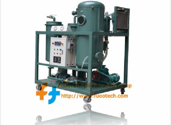 Series FTY Vacuum Turbine Lube Oil Filtration Dehydration Machine