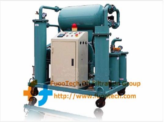 Series ZYA Fully Automatic Singlestage Vacuum Transformer Oil Purifier