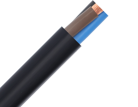 Power and signal cable 061 kV PVC insulated and sheathed NYY