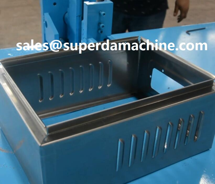 Junction box machine electronic cabinet enclosure panel roll forming machine