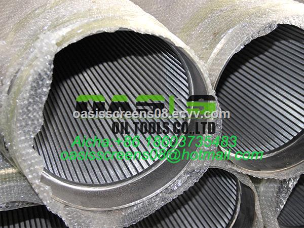 8 58inch Stc Male Female Threaded End Johnson Type Wedge Wire Screens