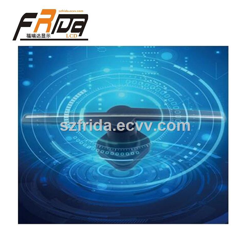 3D Hologram Advertising Display LED Fan Imaging