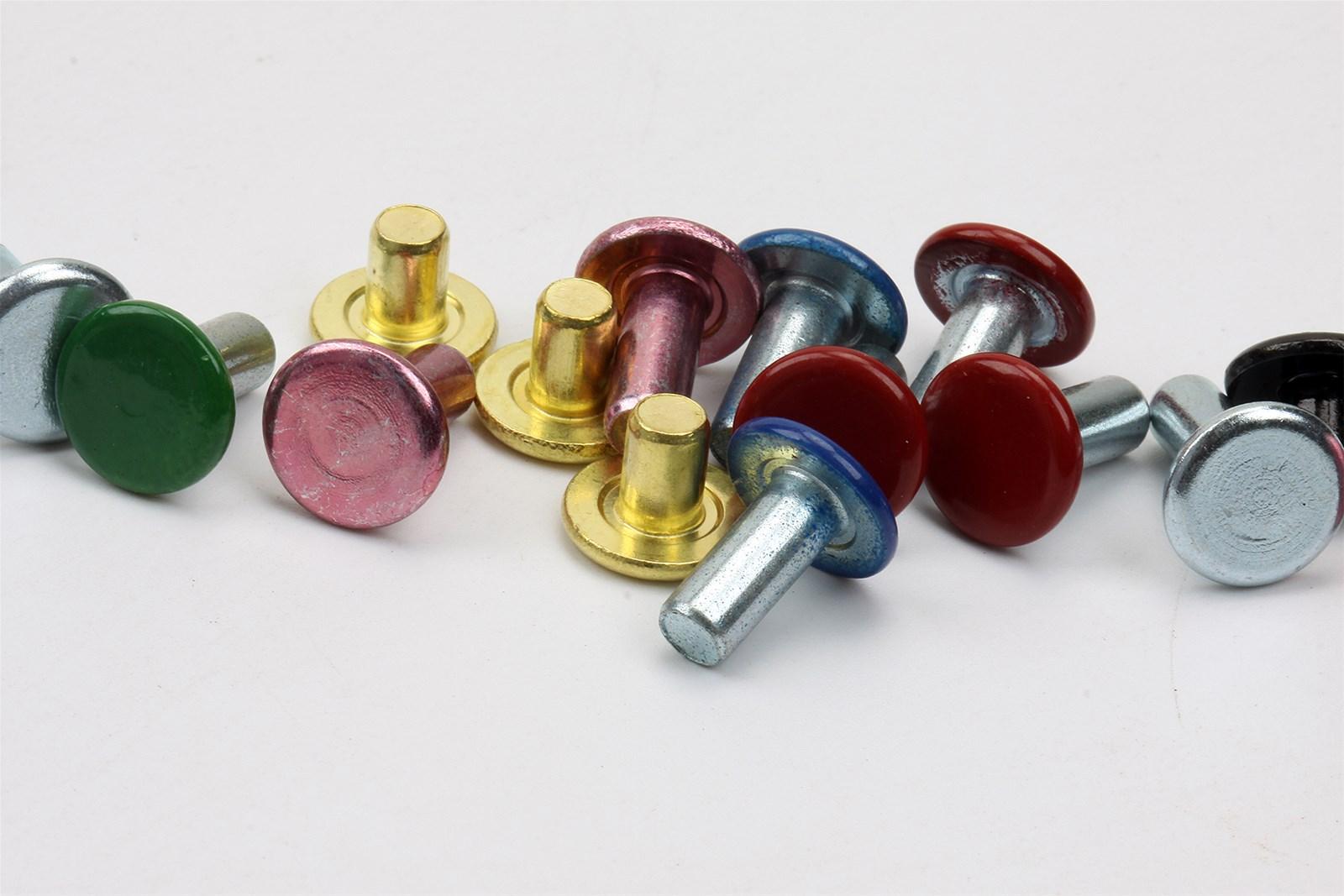 RIVETS shelves rivets fasteners hardware carbon steel brass stainless steel