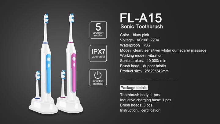 electric toothbrush yasi FLA15