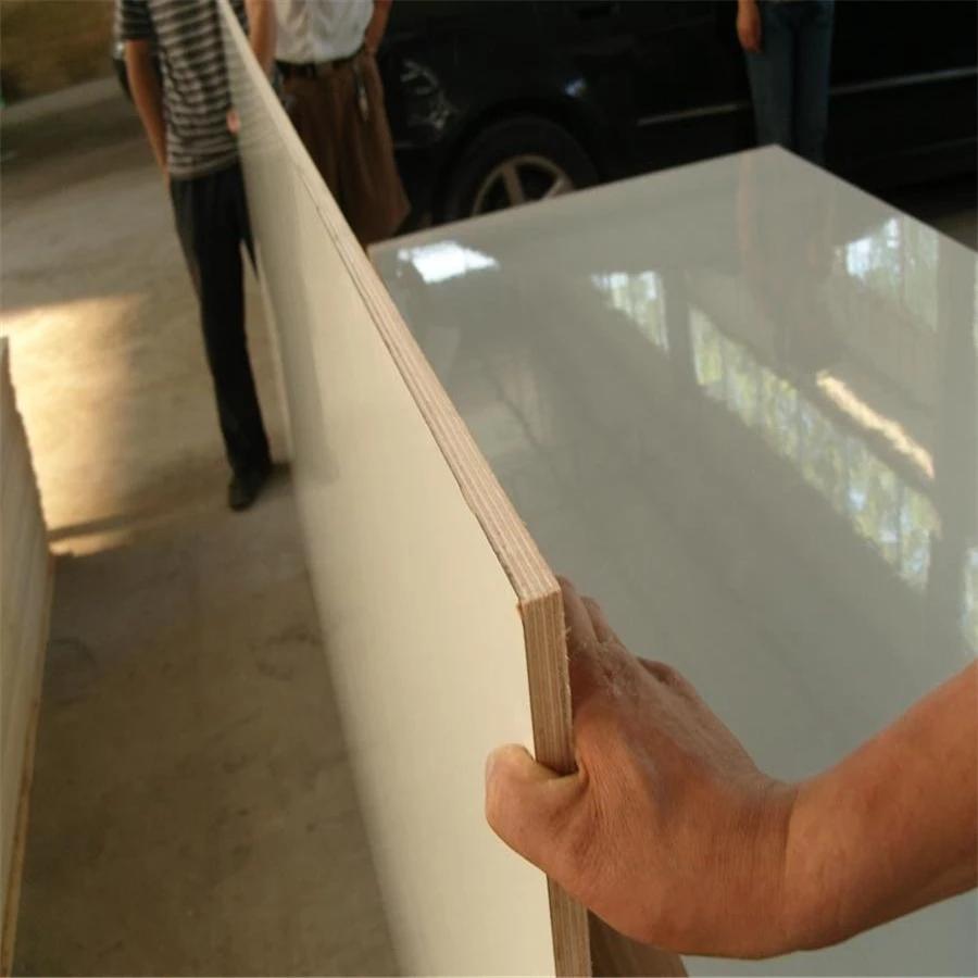HPL Furniture PlywoodHigh glossy melamine boardHPL laminated Plywood