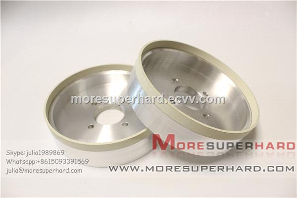 Vitrified bond diamond wheel for grinding PCD PCBN Cemented carbide cutting tools