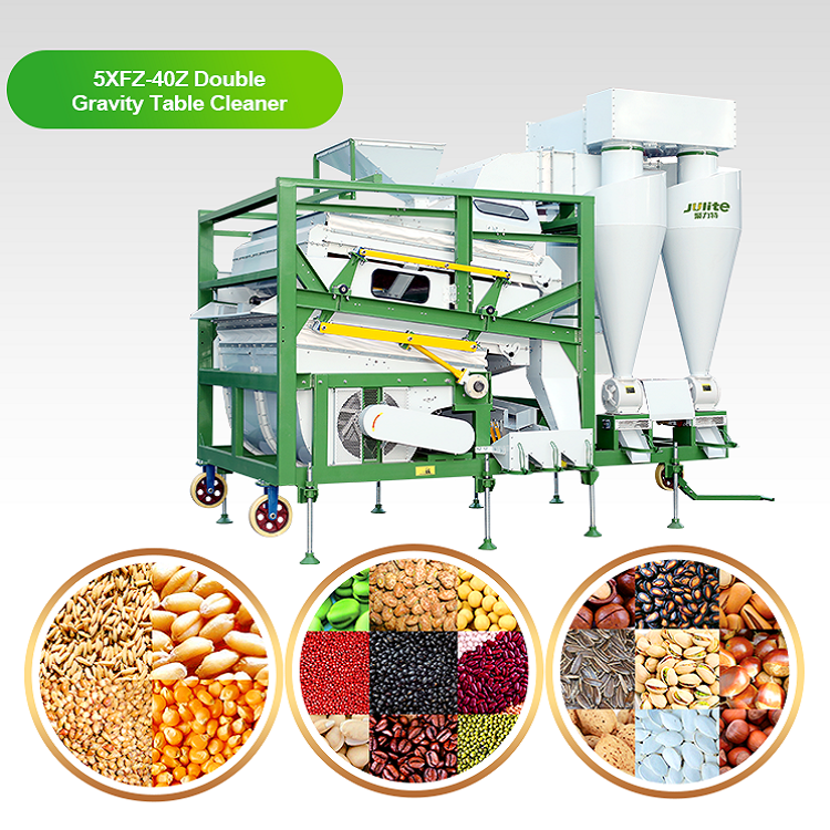 5XFZ40ZNew Machinery High Purity Peanut Lens Soya bean grain cleaner