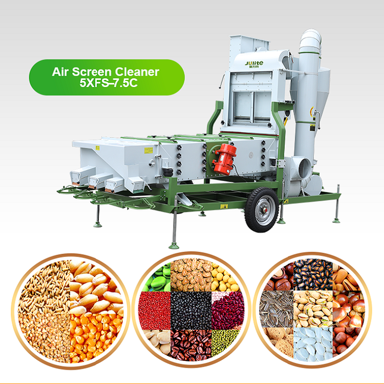 5XFS75C Grain Seed Cleaner high purity