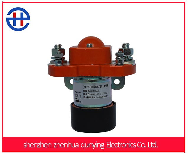 dc contactor 48v Single Phase Dc Electric Contactor used in electric mini dumper battery