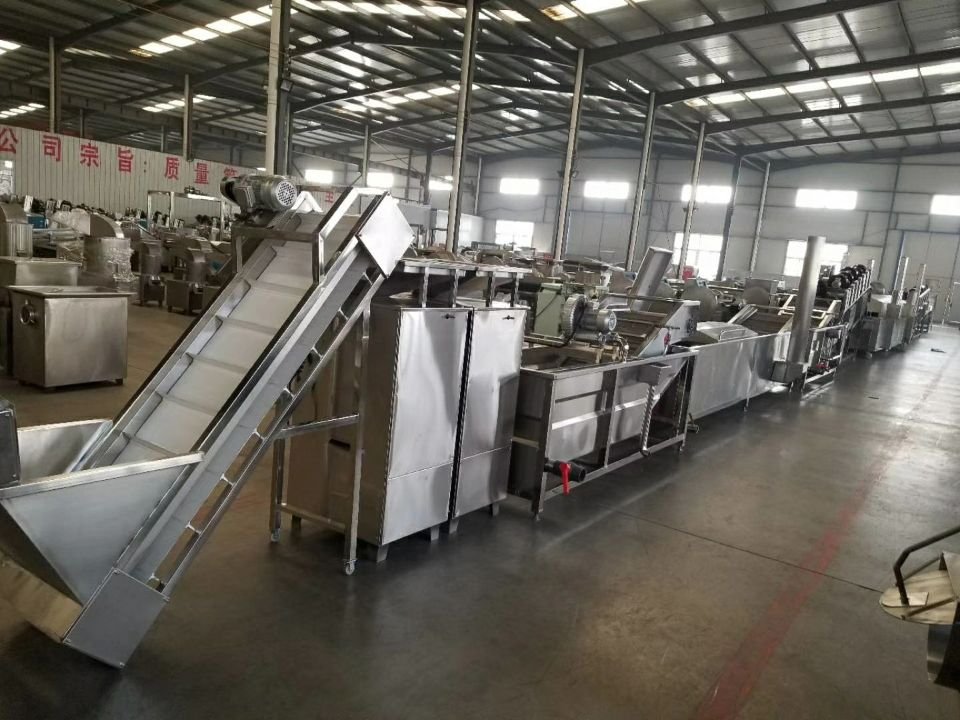 Production cost of potato chips wafer automatic plant potato chip producers