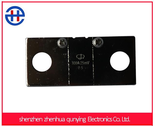 Factory direct sales FL2A 300A 25mV dc shunt resistor For Digital Amp meter Analog Meter