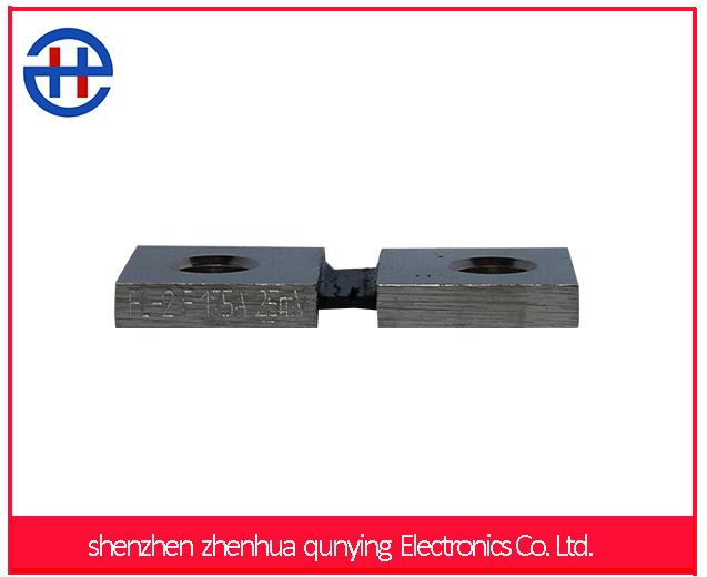 Low price FLF 175A current flowing 25mv voltage drop current shunt resistor for Current Tester