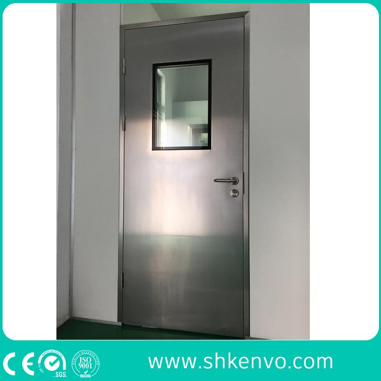 Steel Swinging Clean Room Doors for Food or Pharmaceutical Industries