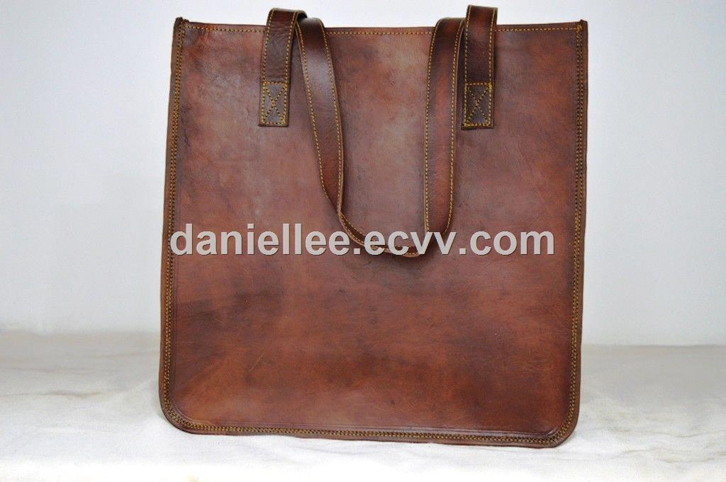 2018 New Hot Selling Your DIY Genuine Leather Shoulder Tote bag