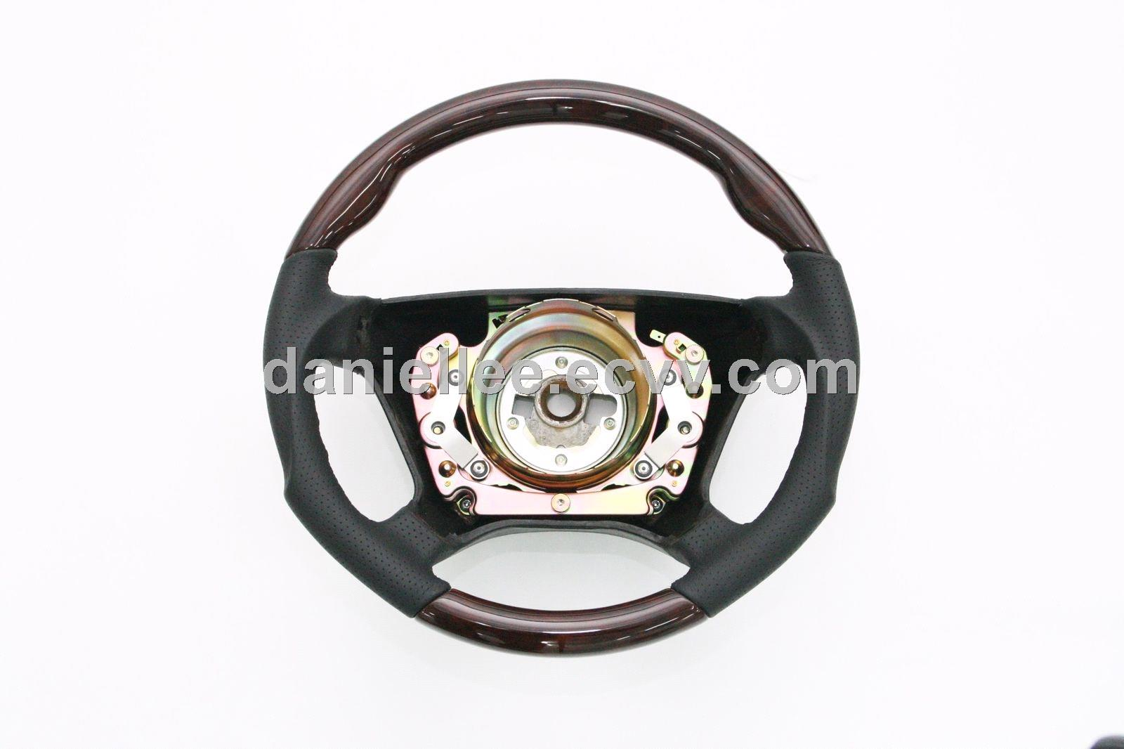 2018 Sport New Perforated Genuine Leather Wrapped Steering Wheel