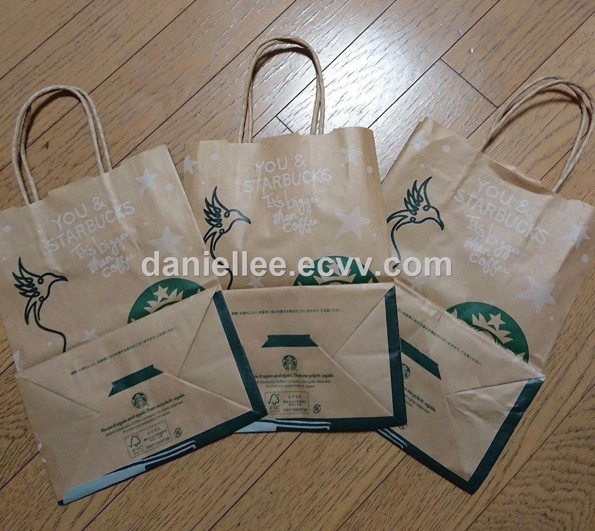 2018 New Hot Selling Your DIY Paper Bags With Handle And Paper Coffee Filters