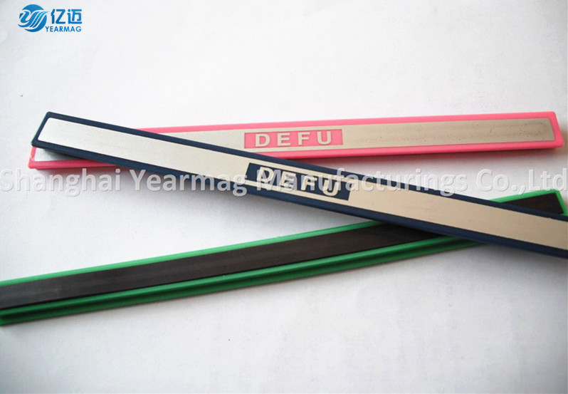 Custom made magnetic ruler for whiteboard magnetic tape on whiteboard fridge magnet type plastic cover strip on board