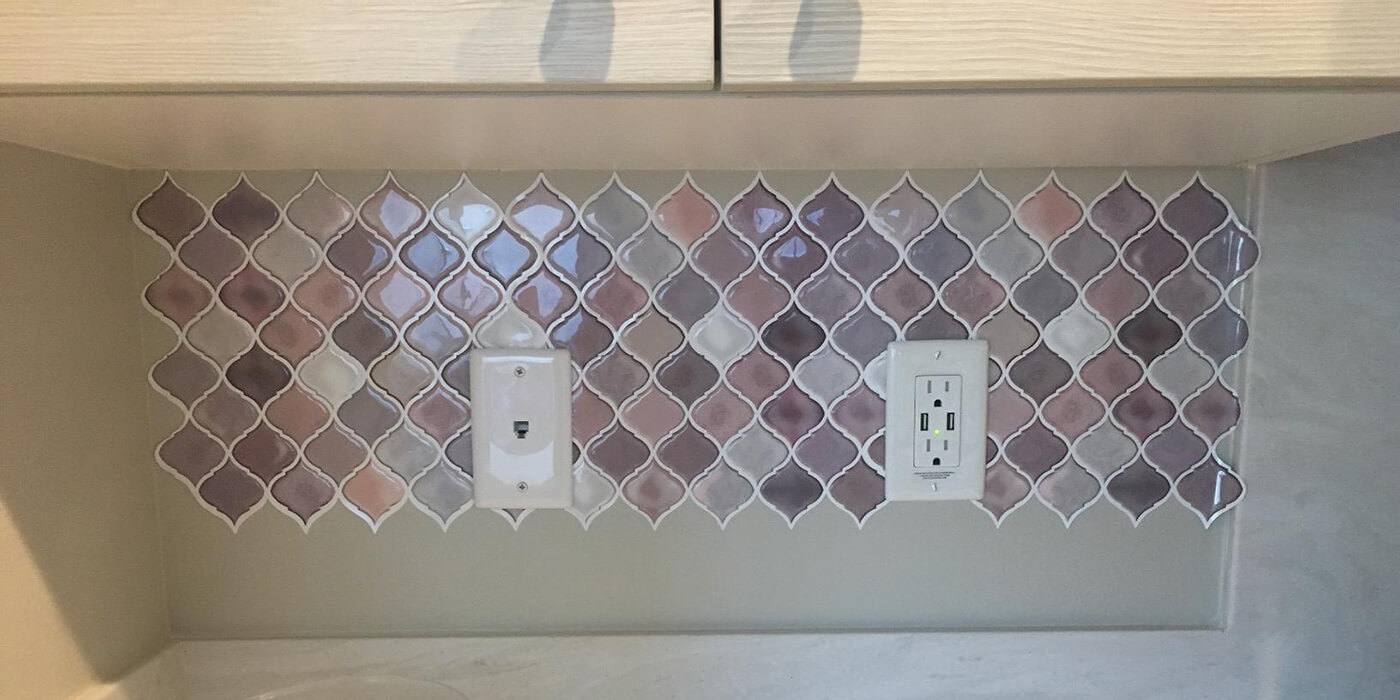 Clever Mosaics home decor peel and stick mosaic tiles