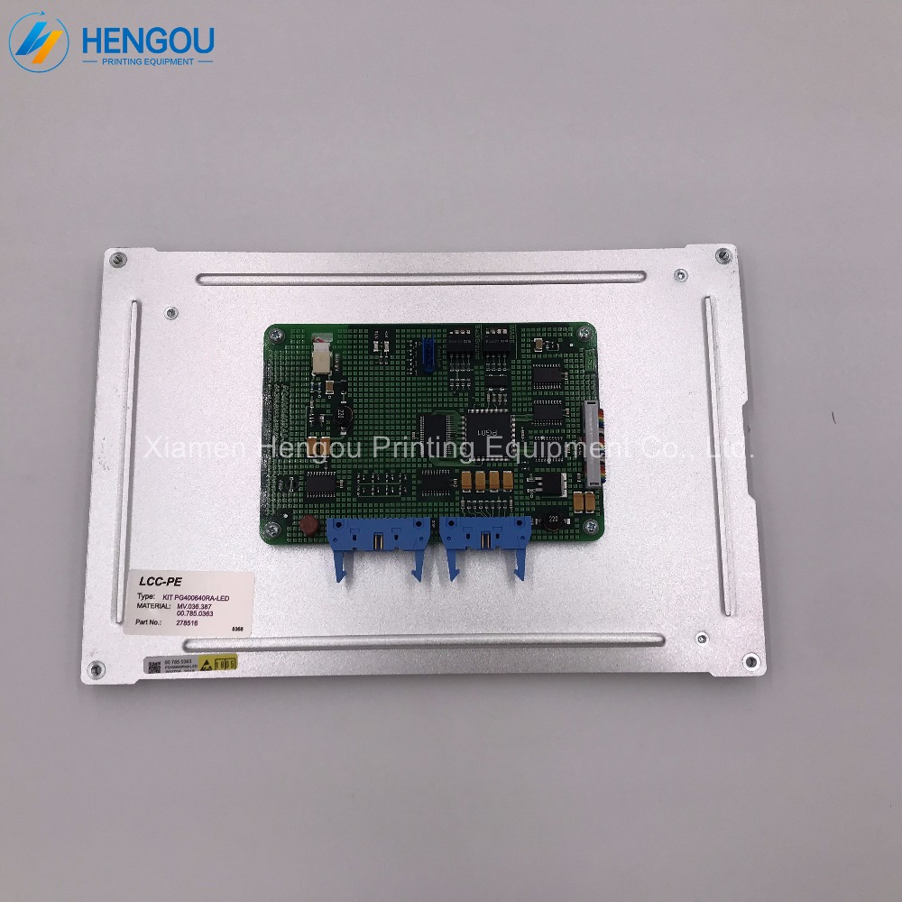 12 months warranty printing display screen HEIDELBERG CP Tronic Display MD400F640PD1A PG640400RA42 PG640400RA4