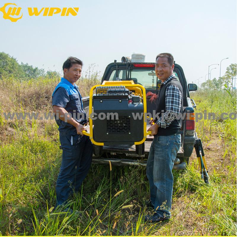 Easy Operated Gasoline engine Portable hydraulic power station unit