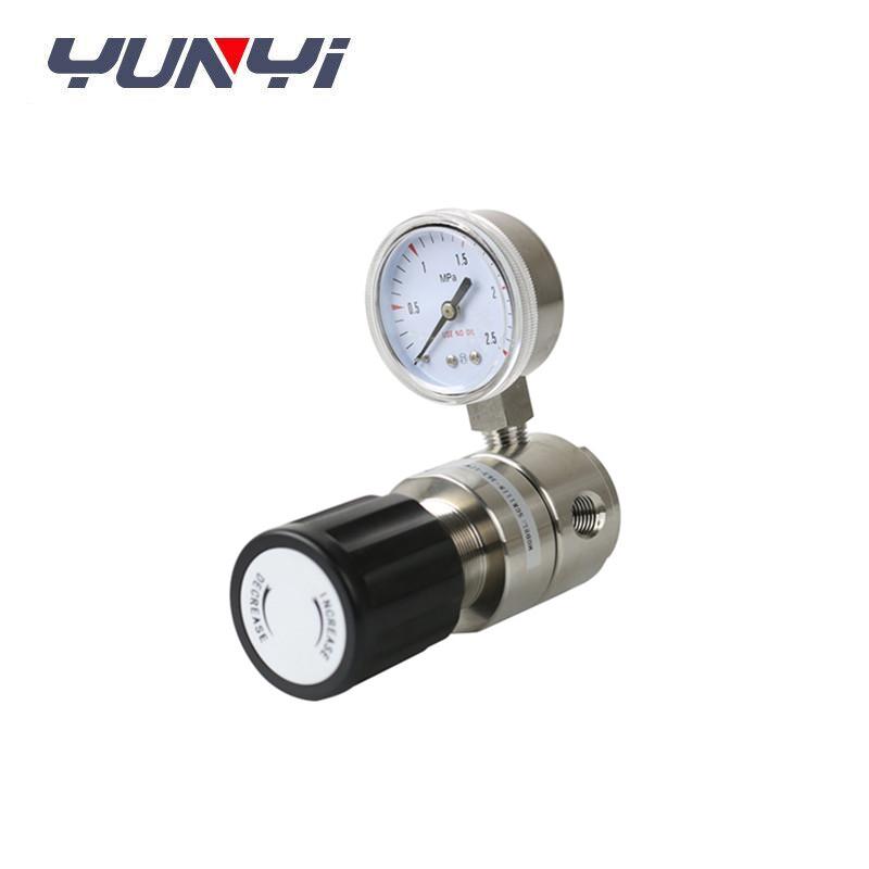 back gas pressure control valve