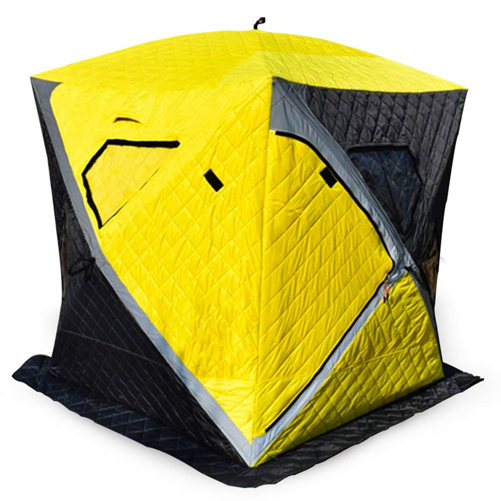NALANDA Nananda 2person Ice Fishing Shelter Portable Pull Up Wide House in Winter for Cold and Wind Insulating
