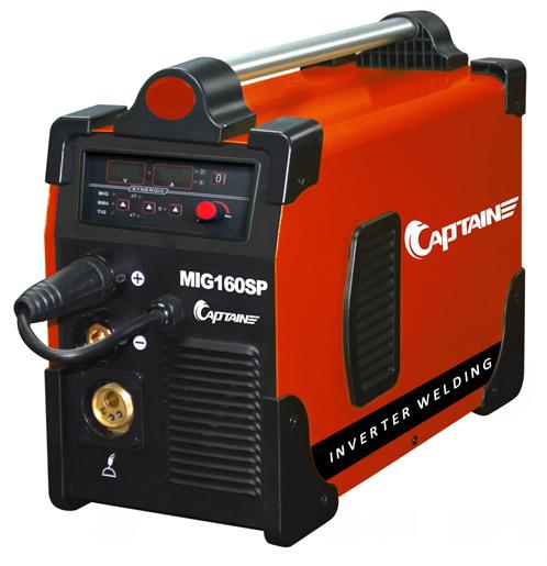 Multifunctional welding machines MIG160D single board digital control