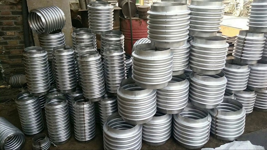 Metal Bellows for Compensator Corrugated Pipe Flexible UNS N08825 DN550 PN10 Bar Single Wall
