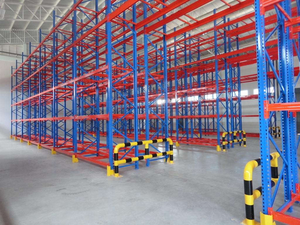 Heavy Duty Pallet Warehouse Racking Metal Storage Shelves