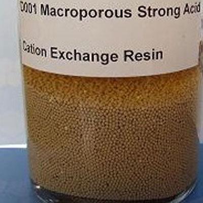 D001Nbsp D001Nbsp Macroporous Strong Acid Cation Exchange Resin1 Description Strong Acid
