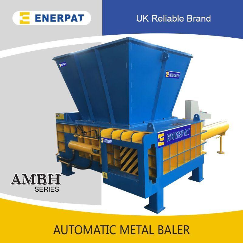 UK Enerpat Automatic steel cans metal baler