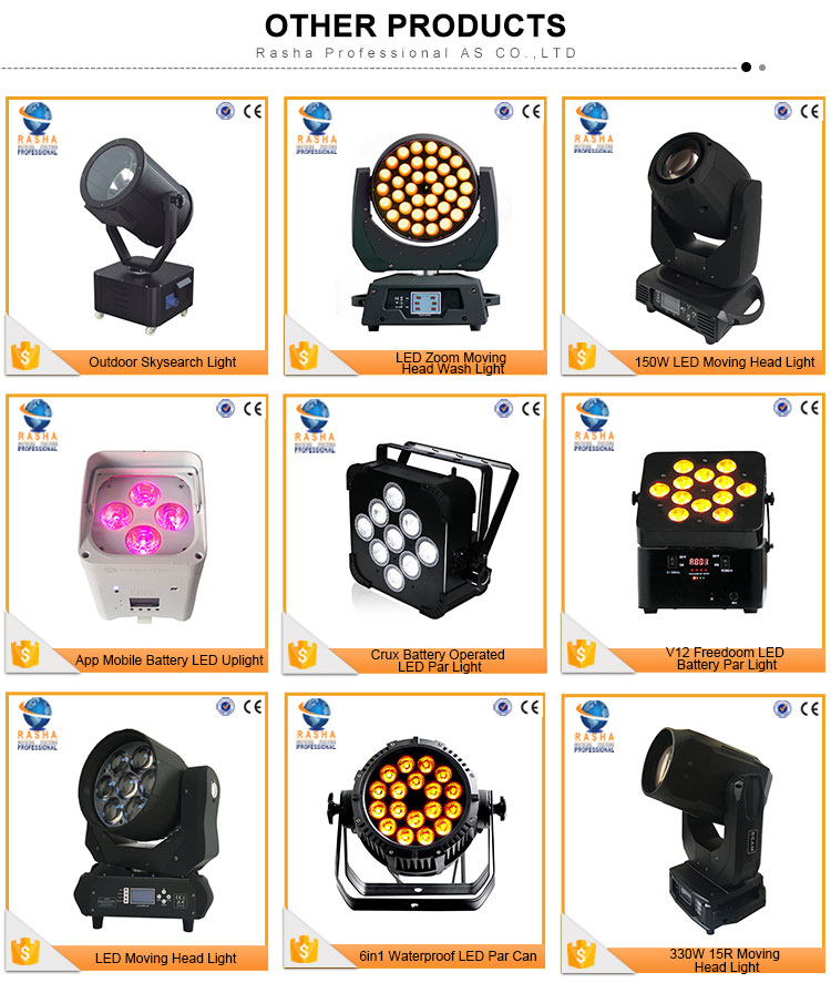 Outdoor 9610W RGBW 4IN1 LED City Color Light Stage Lighting