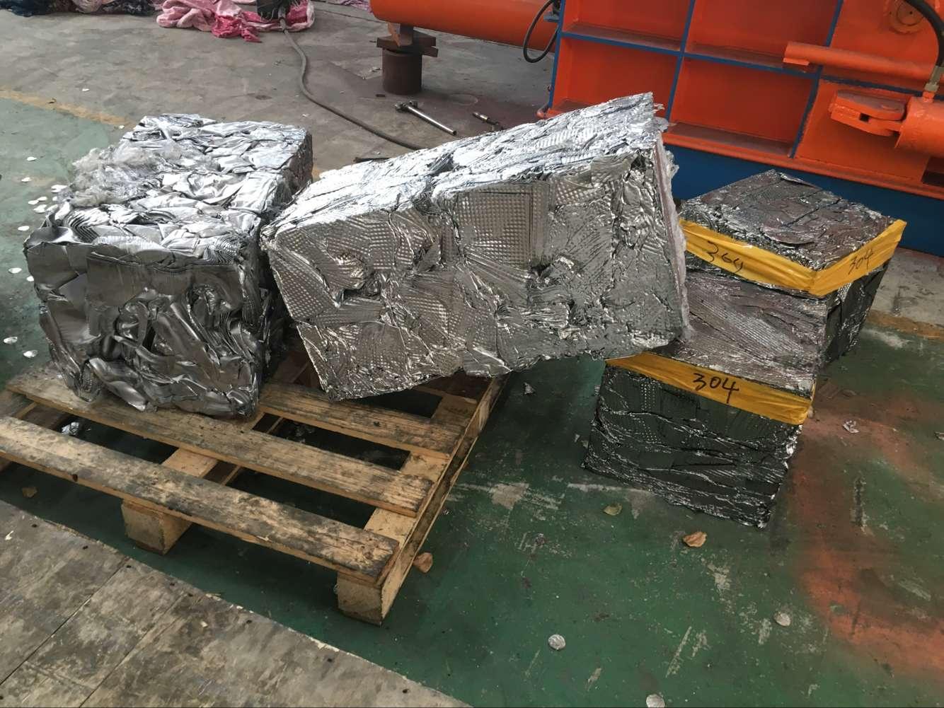 UK Baling System steel wire metal baler Scrap Metal Baler