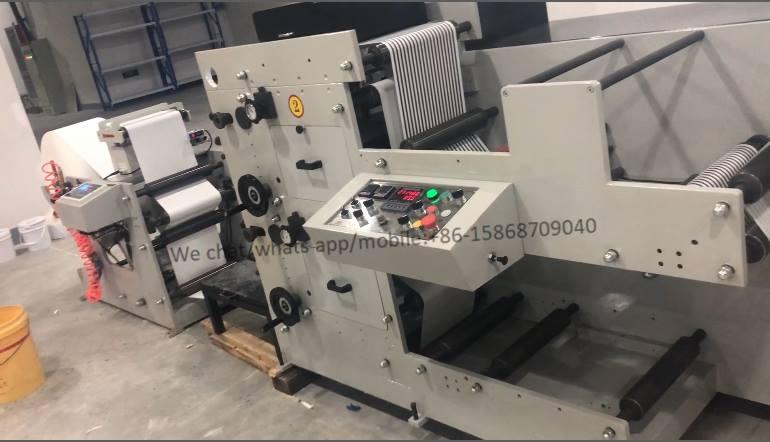 LCPSM004 Straw Paper Flexo Printing Machine