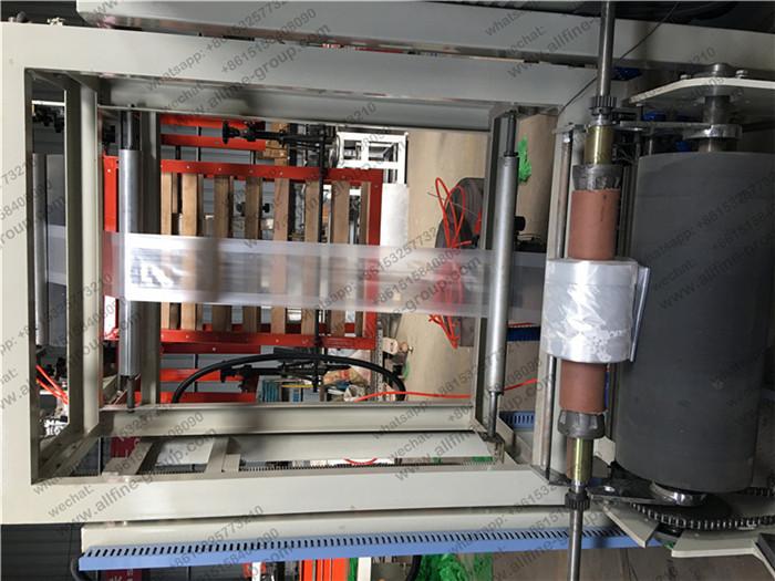 PE Mini Film Blowing Machine Integral Type 11KW Heating Power with Single Winder