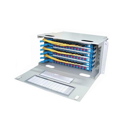 WTEL Optical Fiber Distribution Frame 12F 24F 48F 96F 144F 256F ODF