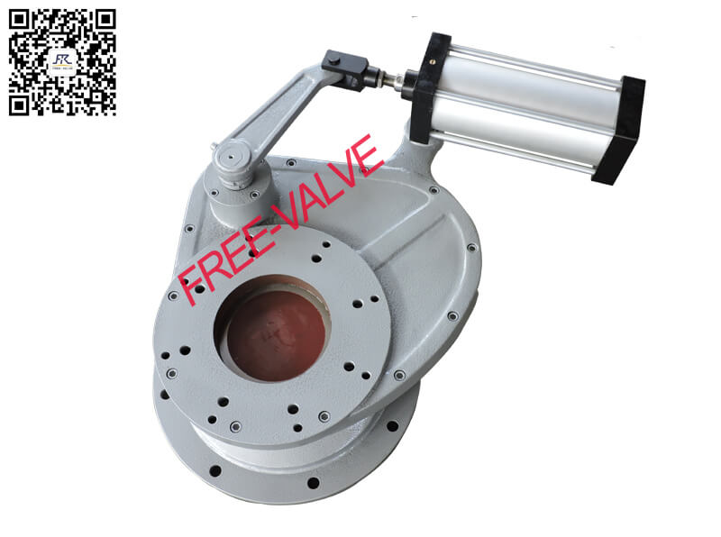 Pneumatic Swing Ceramic Feed ValveCeramic Swing Discharge Gate Valve