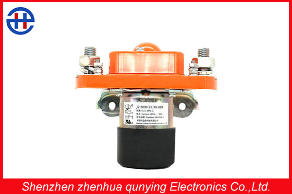 Manufacturer Rate current 600 amper 48v normally closed double coils electromagnet breaker used in car or electricmotor