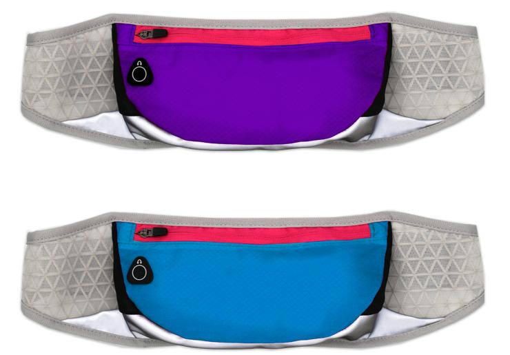 Running Mountaineering Sports Bag Zipper Cell Phone Waist Bag Ladies Purse