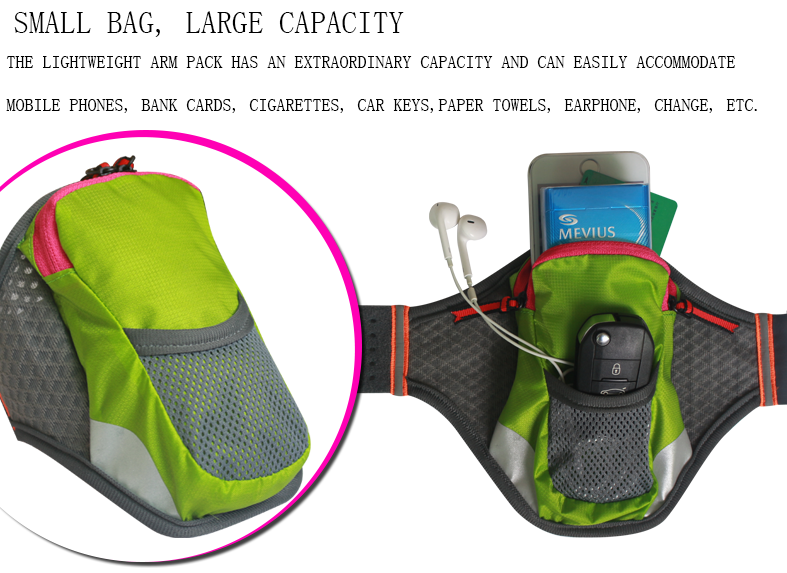New Sport Arm Band Outdoor Running Mobile Phone Arm Bag