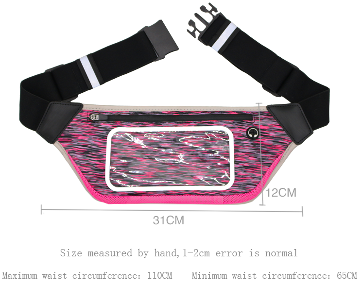 Running Mountaineering Cycling Sports Waist Bag Outdoor Multifunctional Purse