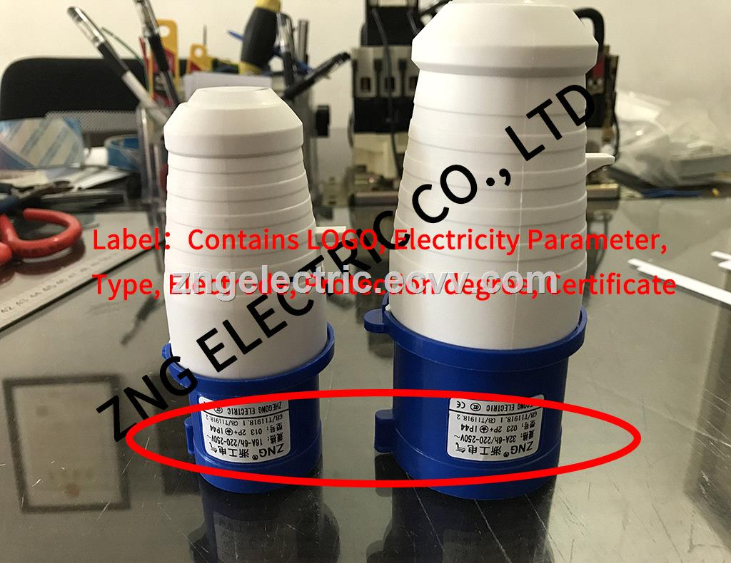 IP44 industrial plug 16Amp 3Pin 220V industrial power plug 16A 2PPE