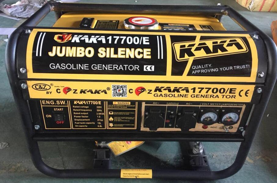 Portable 3kw Gasoline Generator