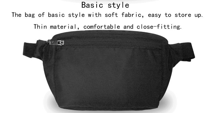 New Sports Oxford Fabric Waterproof High Capacity Portable Waist Bag